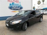 2013 Tuxedo Black Ford Focus S Sedan #82553745