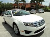 2010 White Platinum Tri-coat Metallic Ford Fusion SEL V6 #82553850
