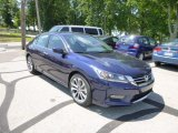 2013 Obsidian Blue Pearl Honda Accord Sport Sedan #82554301