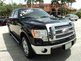 2011 Ebony Black Ford F150 Lariat SuperCrew #82553848
