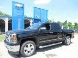 2014 Black Chevrolet Silverado 1500 LTZ Crew Cab 4x4 #82553833