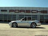 2007 Arctic Silver Metallic Porsche 911 Carrera Cabriolet #8256