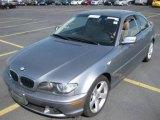 2004 Silver Grey Metallic BMW 3 Series 325i Coupe #8241750