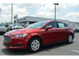 2013 Ford Fusion Ruby Red Metallic