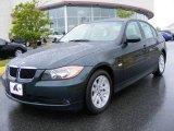 2007 Deep Green Metallic BMW 3 Series 328i Sedan #8254997
