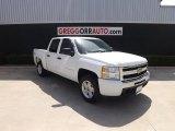 2011 Summit White Chevrolet Silverado 1500 LS Crew Cab 4x4 #82554143
