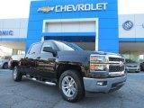 2014 Black Chevrolet Silverado 1500 LT Crew Cab #82554045