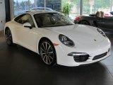 2013 Porsche 911 White
