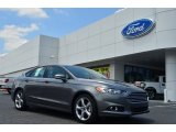 2013 Sterling Gray Metallic Ford Fusion SE 2.0 EcoBoost #82553918