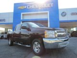 2013 Black Chevrolet Silverado 1500 LT Crew Cab #82554044