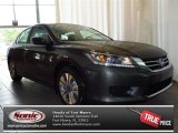 2013 Hematite Metallic Honda Accord LX Sedan #82553701
