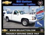 2006 Summit White Chevrolet Silverado 1500 Work Truck Regular Cab #82554381