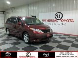 2012 Salsa Red Pearl Toyota Sienna LE #82553761