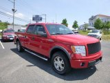 2010 Vermillion Red Ford F150 FX4 SuperCrew 4x4 #82553887