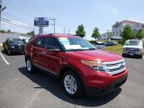 2011 Red Candy Metallic Ford Explorer XLT 4WD #82553885