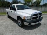 2005 Bright White Dodge Ram 1500 ST Quad Cab #82554121