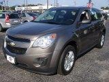 2010 Mocha Steel Metallic Chevrolet Equinox LS #82553689