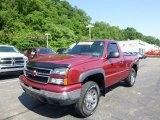 2006 Sport Red Metallic Chevrolet Silverado 1500 Z71 Regular Cab 4x4 #82554119