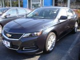 2014 Blue Ray Metallic Chevrolet Impala LS #82553670