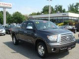 2011 Magnetic Gray Metallic Toyota Tundra Limited Double Cab 4x4 #82554003