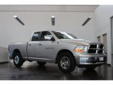 2012 Bright Silver Metallic Dodge Ram 1500 SLT Quad Cab 4x4 #82554096