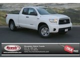 2013 Super White Toyota Tundra SR5 Double Cab 4x4 #82553654