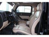 2009 Hummer H3 T Alpha Front Seat