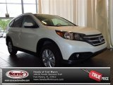 2013 White Diamond Pearl Honda CR-V EX-L #82613937