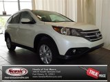 2013 White Diamond Pearl Honda CR-V EX-L #82613936