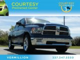 2011 Deep Water Blue Pearl Dodge Ram 1500 SLT Crew Cab #82614147