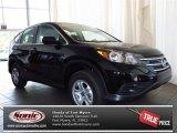 2013 Crystal Black Pearl Honda CR-V LX AWD #82613931