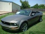 2005 Mineral Grey Metallic Ford Mustang V6 Premium Convertible #82614102