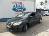 2013 Tuxedo Black Ford Focus S Sedan #82613965