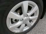 Nissan Versa 2014 Wheels and Tires