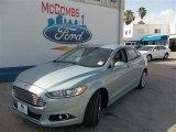 2013 Ice Storm Metallic Ford Fusion Hybrid SE #82613964