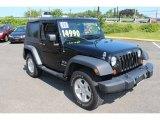 2009 Jeep Wrangler Black