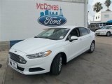 2013 Oxford White Ford Fusion S #82613963
