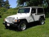2005 Jeep Wrangler Stone White