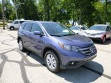 2013 Twilight Blue Metallic Honda CR-V EX AWD #82614121