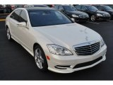 2013 Diamond White Metallic Mercedes-Benz S 550 4Matic Sedan #82614075