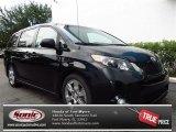 2011 Black Toyota Sienna SE #82613940