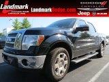 2011 Ebony Black Ford F150 Lariat SuperCrew #82633216
