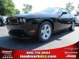2013 Pitch Black Dodge Challenger R/T #82633204