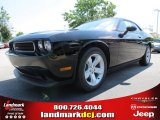 2013 Pitch Black Dodge Challenger SXT #82633203
