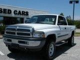 2001 Bright White Dodge Ram 1500 SLT Club Cab 4x4 #8246983