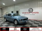 2007 Windveil Blue Metallic Ford Mustang V6 Deluxe Coupe #82633156