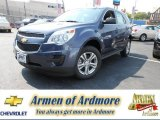 2013 Atlantis Blue Metallic Chevrolet Equinox LS #82638499