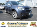 2013 Atlantis Blue Metallic Chevrolet Equinox LT AWD #82638497
