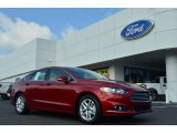 2013 Ruby Red Metallic Ford Fusion SE 1.6 EcoBoost #82638437