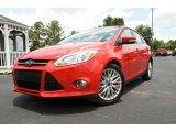 2012 Race Red Ford Focus SEL 5-Door #82638615